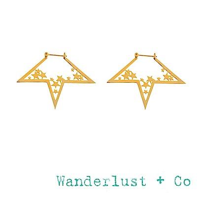 Wanderlust+Co 澳洲品牌 金色星星耳環 經典款繁星耳環 NOVA