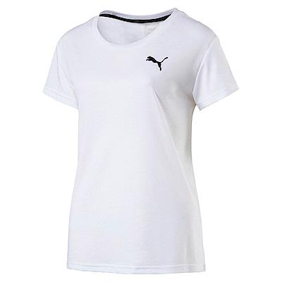 PUMA-女性基本系列URBAN短袖T恤-白色-歐規