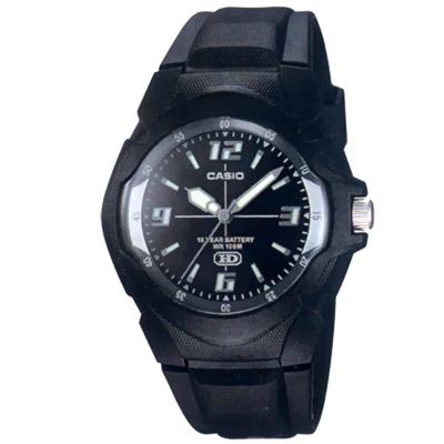 CASIO 超時玩家十年電量指針錶(黑)