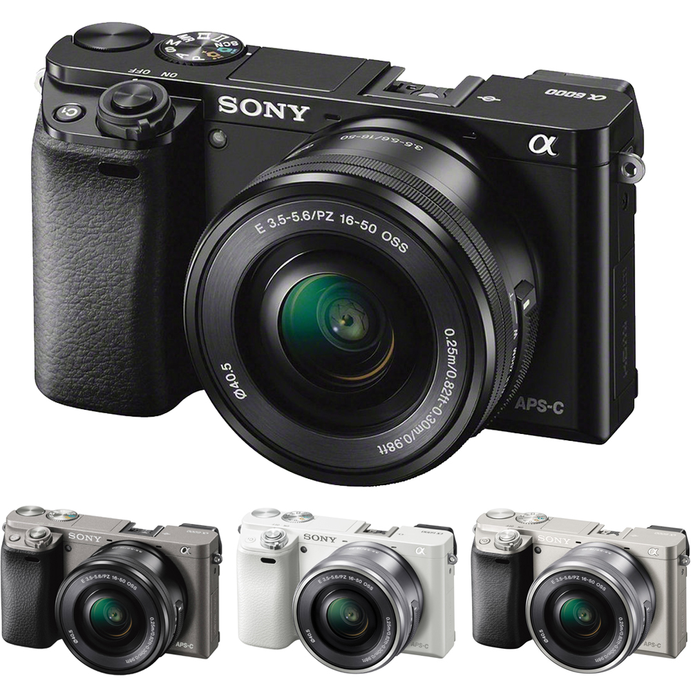 SONY A6000 16-50mm 變焦鏡組(公司貨)