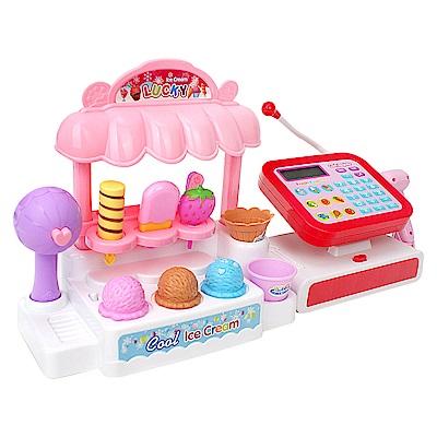 家家酒玩具 聲光冰淇淋收銀機超市 5966