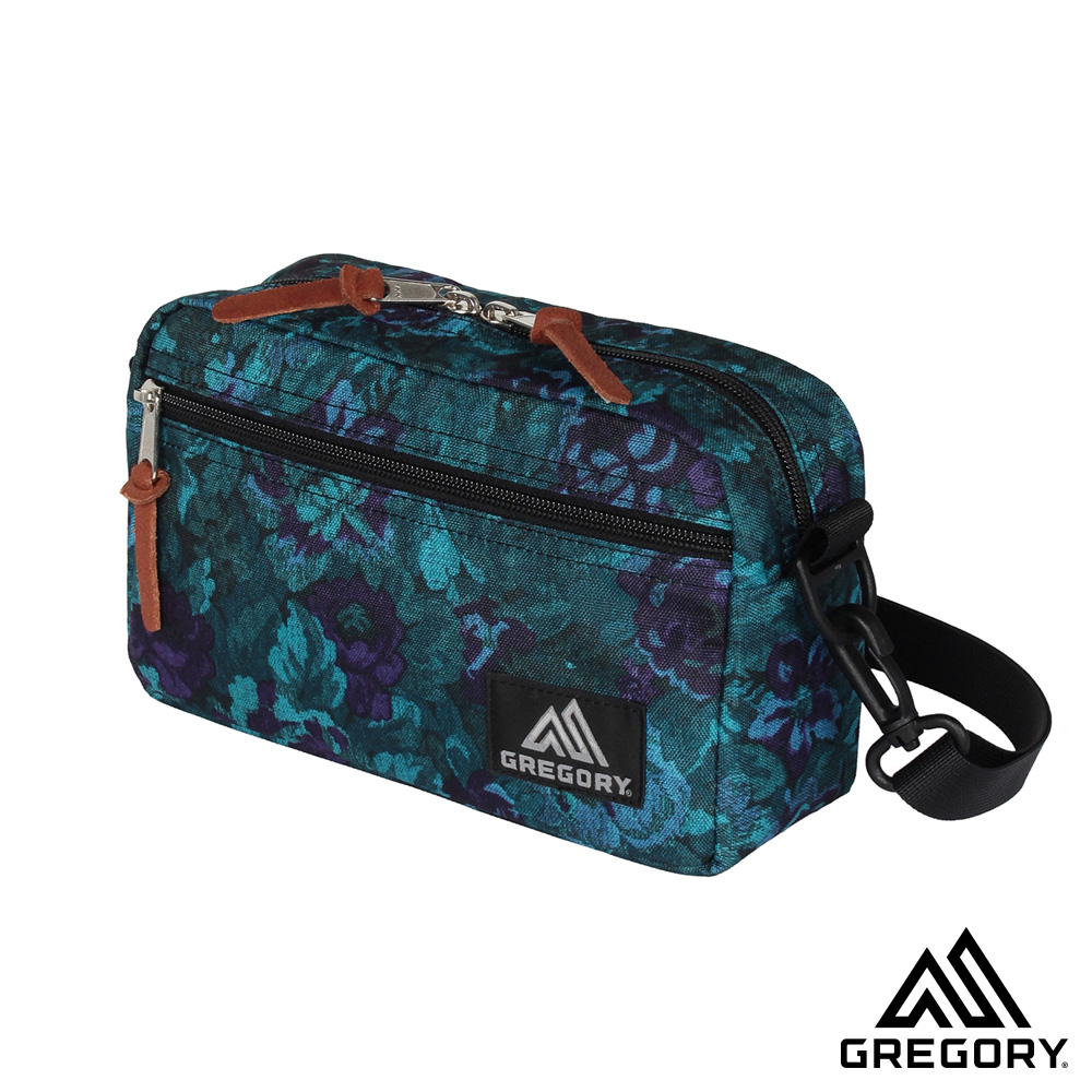 Gregory PADDED SHOULDER POUCH 斜背包 迷幻藍花 M