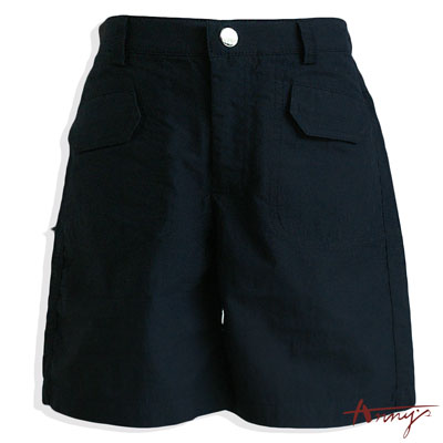 Annys休閒帥氣風經典雙口袋短褲*2390藍