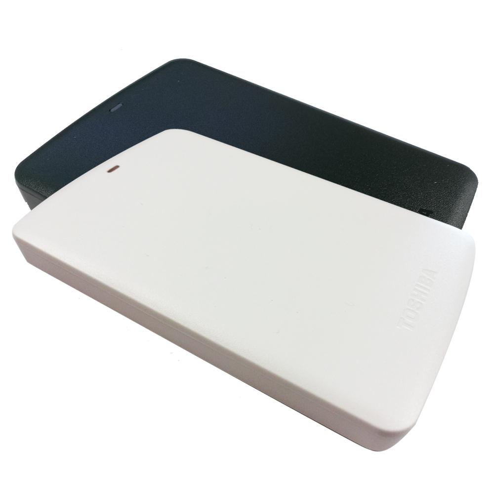 TOSHIBA 1TB USB3.0 2.5吋行動硬碟 黑/白靚潮II