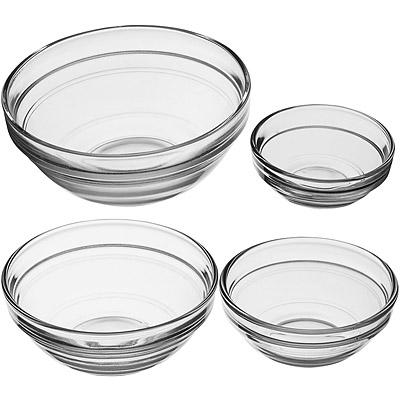KitchenCraft 玻璃調味碗4件