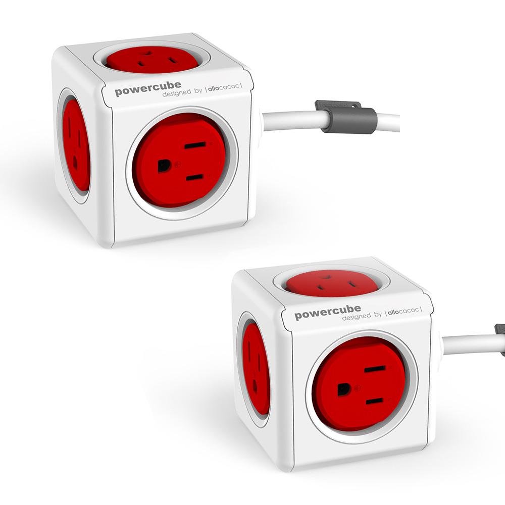 《1+1特惠》PowerCube 擴充延長線精選-1.5m雙件組
