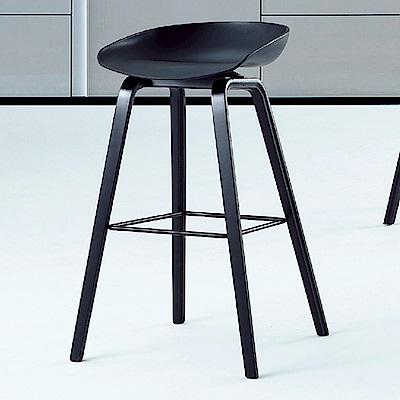 AS-米蘭達吧台椅-43x43x82cm(三色可選)