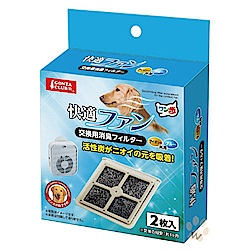 Marukan 舒適涼爽風扇 除臭過濾器【DP-858】