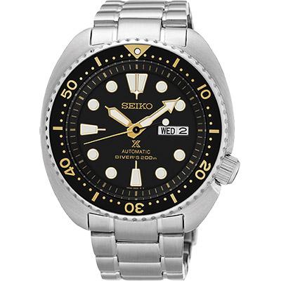 (無卡分期6期)SEIKO PROSPEX  200米潛水機械錶(SRP775J1)-44mm