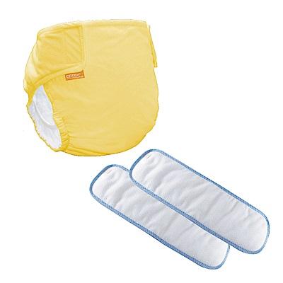 〔可透舒〕日用體驗組--DB500無扣式單一尺寸布尿布(黃色款)