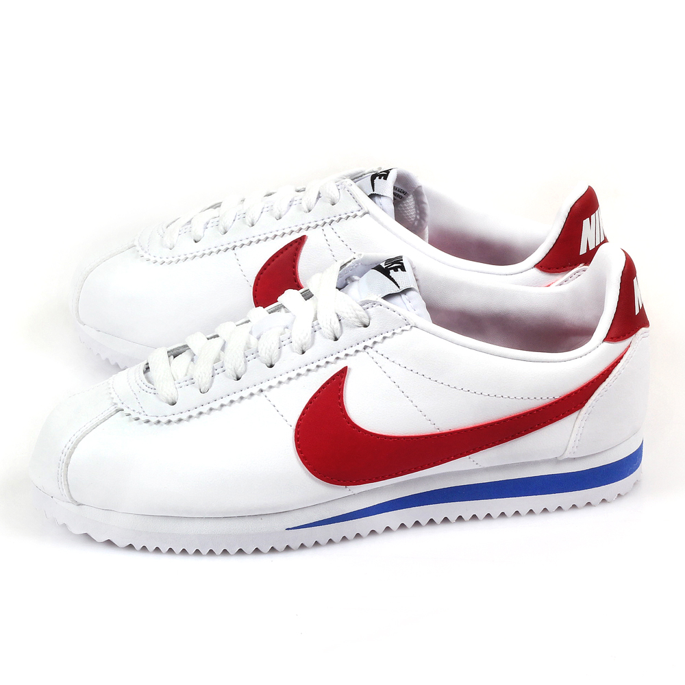 NIKE W CLASSIC CORTEZ LEATHER-女 807471-103