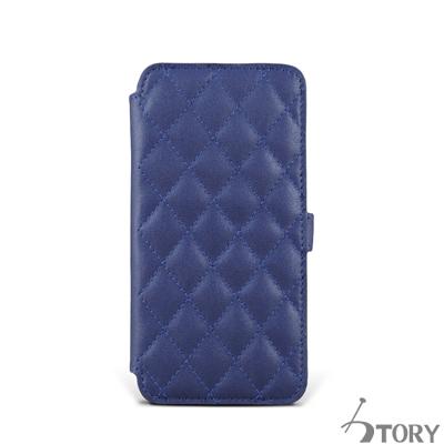 STORY皮套王 HTC M9+ 硬殼式側翻菱格 客製化皮套