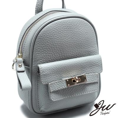 JW-真皮聖薩爾時尚簡約後背包-共三色