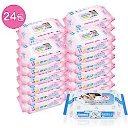 貝比Q EDI超厚超純水柔濕巾量販特價組(箱)(無香料)+貝恩NEW嬰兒保養柔濕巾/20抽