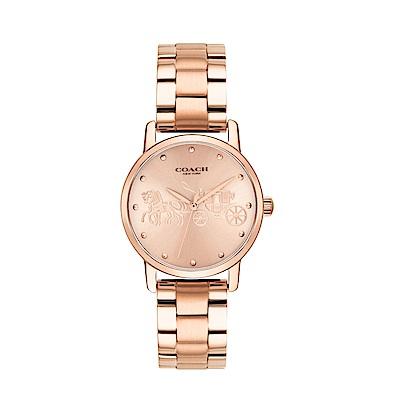 COACH 經典馬車系列手腕錶/14502977