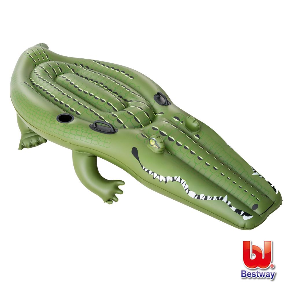 《凡太奇》Bestway。巨型鱷魚259cm充氣助浮/浮排/坐騎