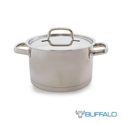 牛頭牌雅登歐式直身湯鍋20cm-雙耳