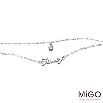 MiGO Fancy白鋼項鍊