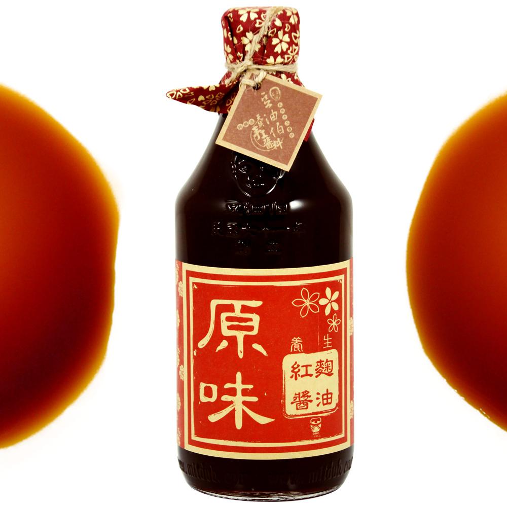 豆油伯 紅麴醬油(500ml)