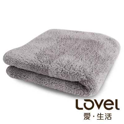 LOVEL  7 倍強效吸水抗菌超細纖維小浴巾(共 9 色)