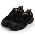 Kai Shin 鋼包頭 防穿刺 安全工作鞋 黑色 U-312B01