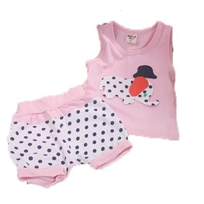 魔法Baby女童裝 女寶寶背心套裝k41460