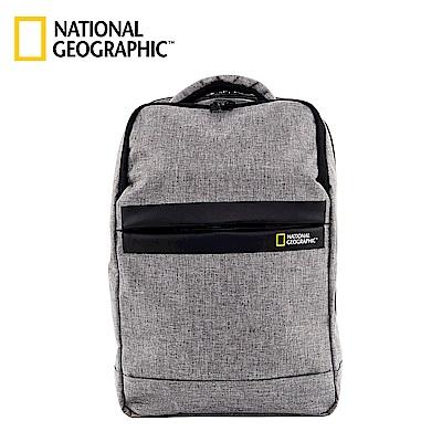 國家地理 National Geographic Stream 無印U型設計後背包-灰