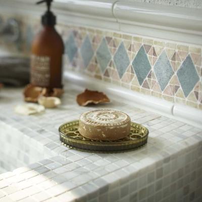 YAMAZAKI 金色年代肥皂架-綠