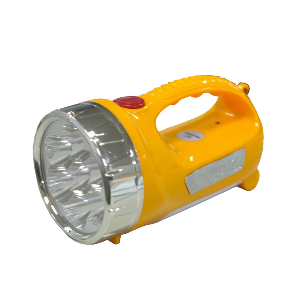 【充電式】LED迷你手提超亮聚光手電筒/可當檯燈