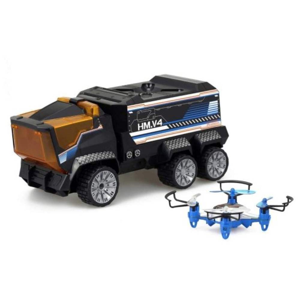 UP101超能無人機卡車任務組/遙控飛機/遙控車(SL84772)