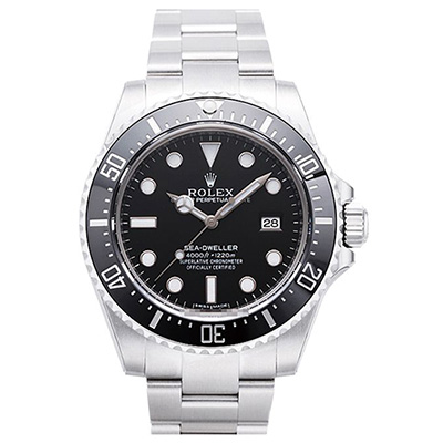 ROLEX 勞力士 Sea-Dweller 116600深海潛水錶-黑水鬼/40mm