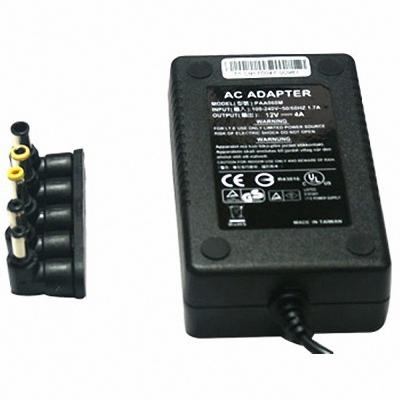 Fujiei 多功用 五合一 防呆接頭變壓器 輸出:12V 4A
