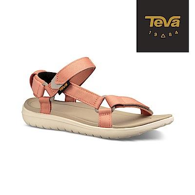TEVA 美國 女 Sanborn Universal 輕量運動涼鞋 珊瑚橘