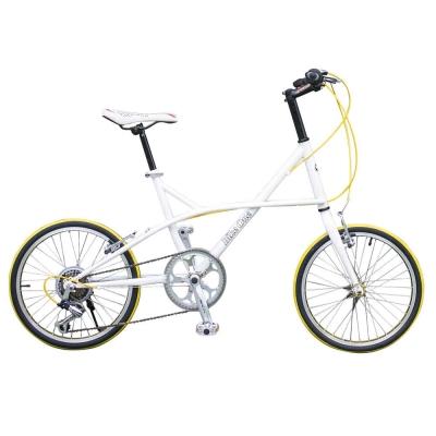 BIKEONE CYCLE ONE 日本SHIMANO變速 20吋7速 時尚海豚小徑車