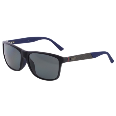 GUCCI偏光太陽眼鏡-碳纖維-紅綠腳-黑配藍腳