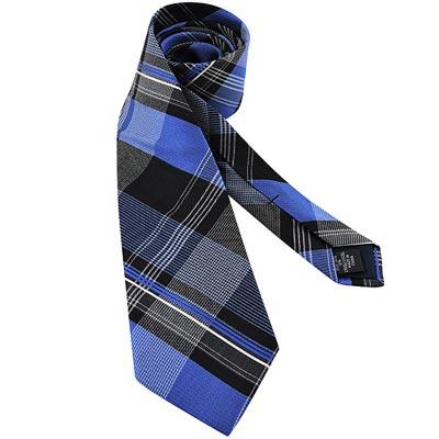 MICHAEL KORS 黑色菱格紋造型領帶