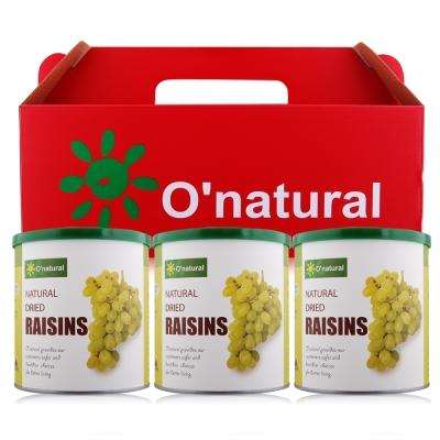 O-natural歐納丘 美國加州天然葡萄乾禮盒360gX3