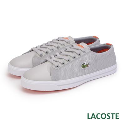 LACOSTE-女用休閒鞋-灰色