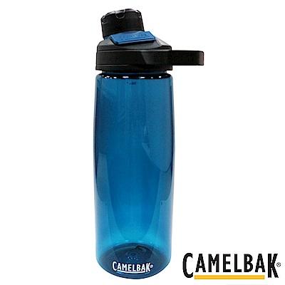 《CAMELBAK》戶外運動水瓶 藍綠 750ml (CB1512401075)
