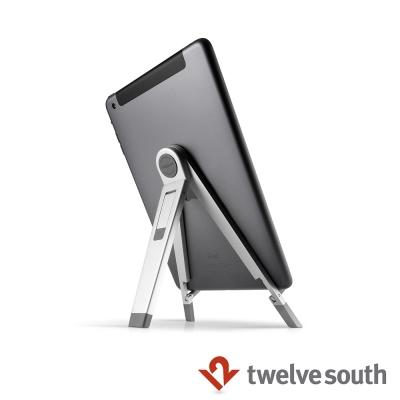 Twelve South Compass 2 立架 - 適用 iPad 與各種平板-銀色