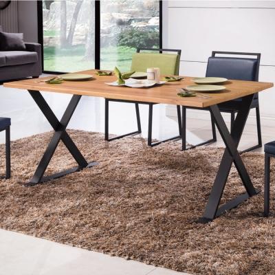 工業風 派亞特思 4 . 3 尺餐桌- 130 x 80 x 76 cm