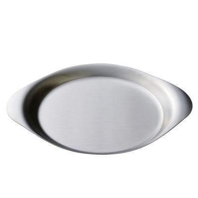 柳宗理 不鏽鋼圓淺盤-25cm