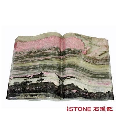 石頭記 玫瑰石(無字天書)-RH2008