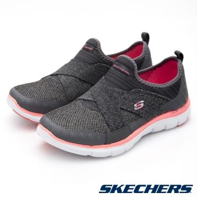 SKECHERS (女)運動系列Flex Appeal2.0-12752WCCCL