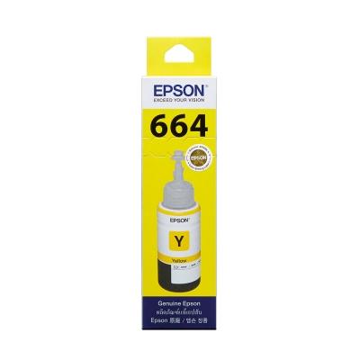 EPSON L100/L200 T664400 原廠黃色墨水匣