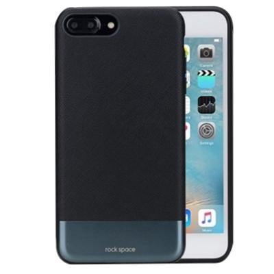 rock space 奧睿系列 iPhone 7 PLUS皮革金屬拉絲手機殼
