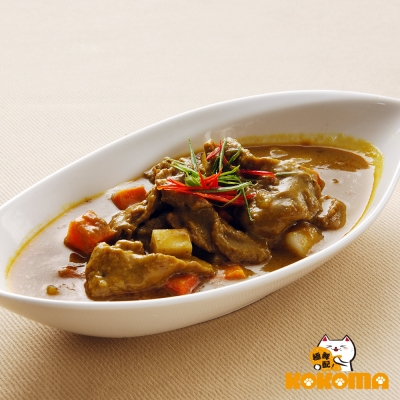 極鮮配 印度香濃牛肉咖哩 300g±10%/包-6包入