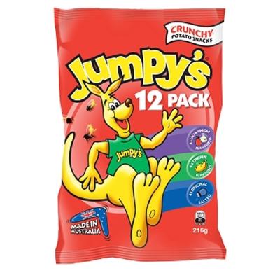 JUMPYS  3 D袋鼠洋芋片歡樂包( 18 gx 12 包)