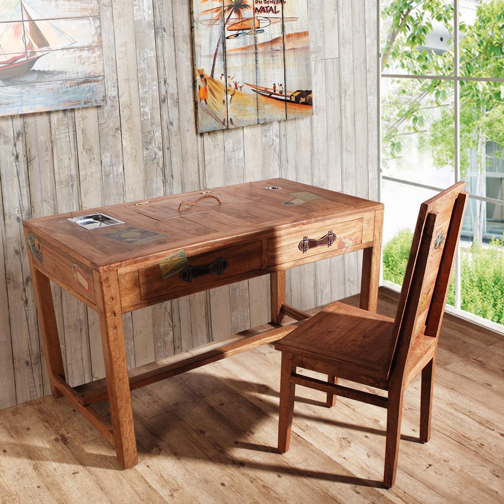 ALMI-DOCKER WORLD - DESK 2DRAWERS 個性工作桌-免裝