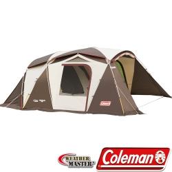 Coleman 22112 氣候達人露營帳篷/透氣子母帳 Std一房一廳帳/防蚊客廳帳